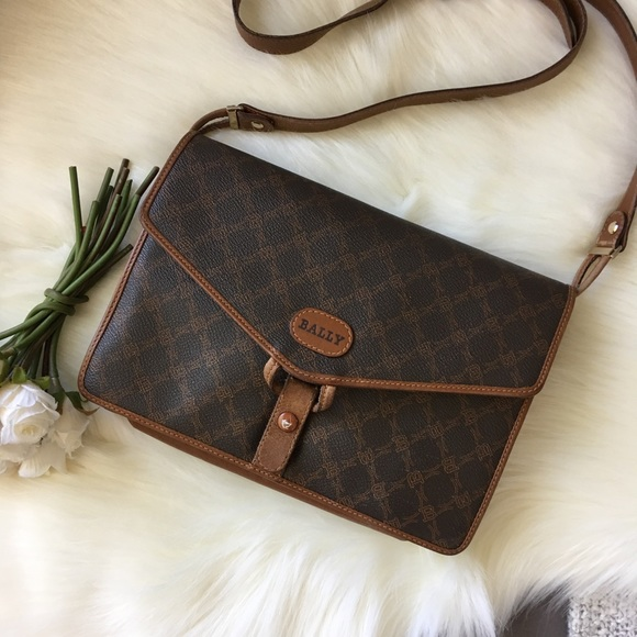 Bally Handbags - ⇩ Bally Fold-over Envelope Messenger Bag